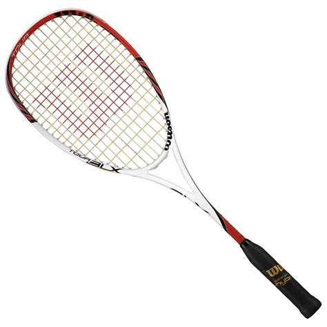 wilson tour blx squash racket squash source