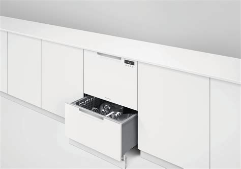 Paykel Dishwasher Drawer by Dd24dctw9 Fisher Paykel Drawer Dishwasher White