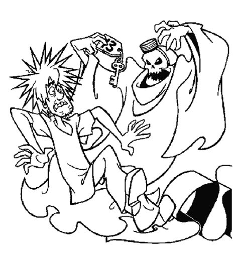 halloween coloring pages scooby doo halloween coloring pages