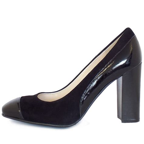 kaiser sorana modern high heel court shoes in