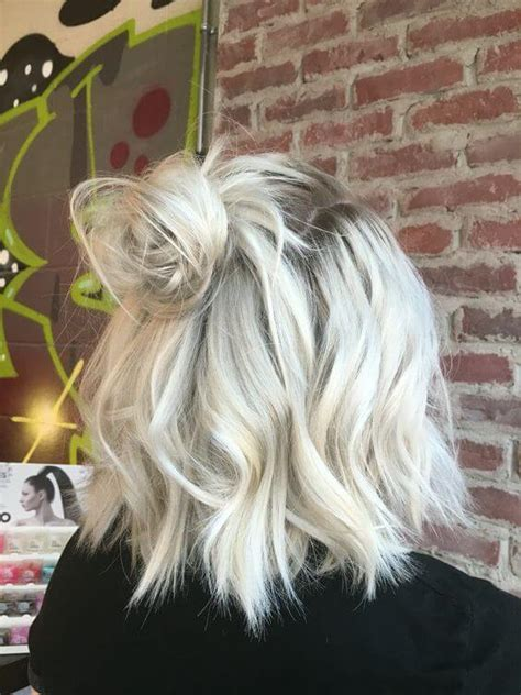 hair color platinum blonde bob cuts 50 fresh short blonde hair ideas to update your style in 2018