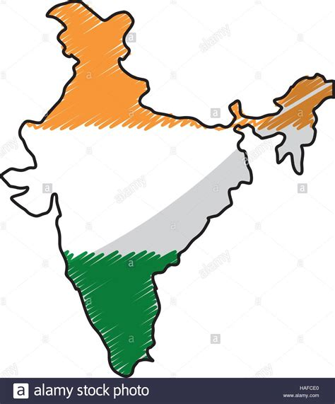 india map vector india map silhouette stock vector illustration