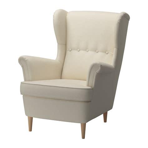 strandmon wing chair isefall ikea