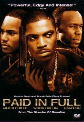 film de gangster histoire vrai film paid in full urban gangsta is in