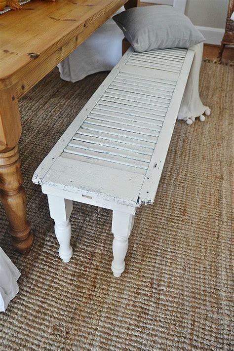 these old shutters were falling apart what she did with