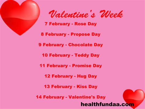 valentines days week week 2016 when is day day hug day