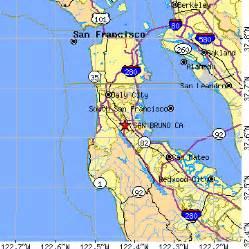 san bruno california map san bruno california ca population data races