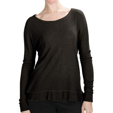 waffle knit shirt waffle knit shirt lurex 174 sleeve for