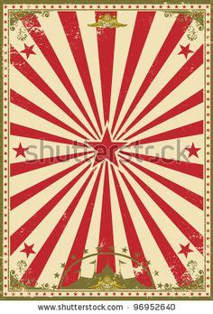 Wallpaper Bunga 043 by Circus On Vintage Circus Posters Vintage