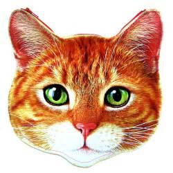 kitty cat head shaped tabby vinyl animal themed clutch bag orange dotoly 183 dotoly 183