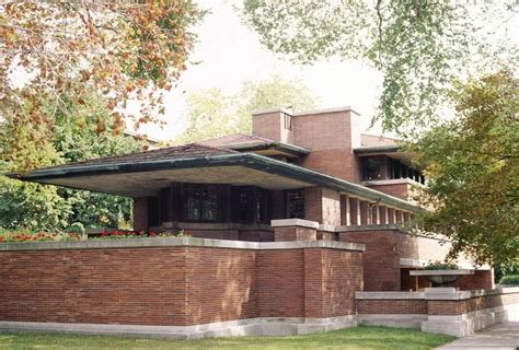 Frank Lloyd Wright Prairie House | home styles home style decoration idea
