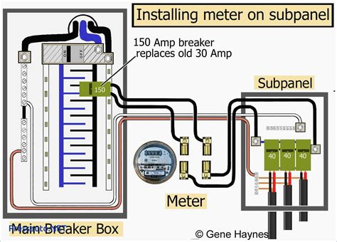 meter wiring diagram wiring diagram