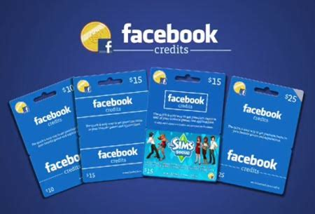 How To Buy A Gift Card On Facebook - how to get facebook credits techshout