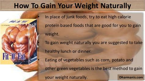 how to make a gain weight effective methods to gain your weight naturally