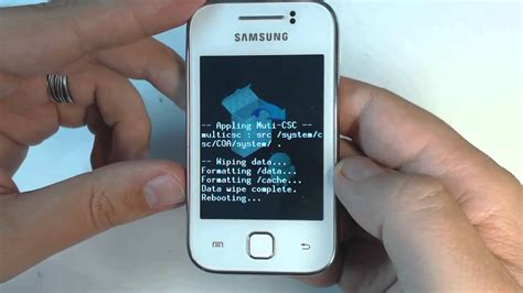 samsung y reset samsung galaxy y s5360 how to remove pattern lock by reset