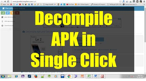 apk decompile decompile apk to source code in single click the programmer