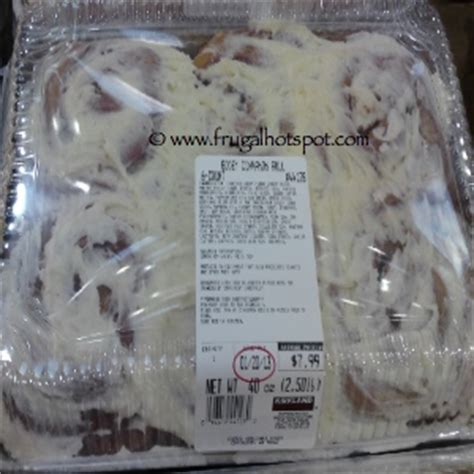 costco buns costco sale gooey cinnamon rolls 6 pack 5 99 frugal hotspot