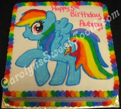 my little pony birthday sheet cake ideas image