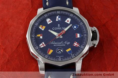 Corum Type corum admirals cup steel automatic kal eta 2892a2 ref 01