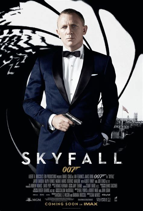 film james bond film james bond skyfall bond poster