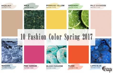 pantone spring fashion 2017 цвета сезона весна лето 2017 pantone fashion color