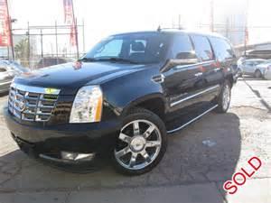 Cadillac Suv Used For Sale Used 2008 Cadillac Escalade Esv Suv Limo Las Vegas