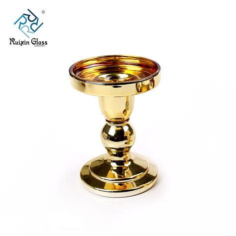 wholesale glass wholesale glass pillar candle holders in china glass
