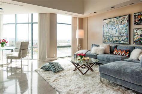 living room  gray velvet sectional modern art