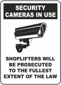 is it legal to have security cameras in bathrooms security cameras in use sign by safetysign com f8076