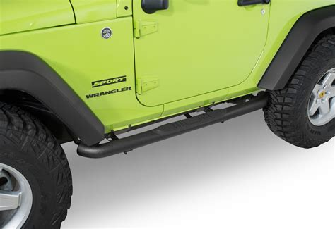 side step for jeep wrangler quadratec 174 qr3 heavy duty side steps for 07 17 jeep