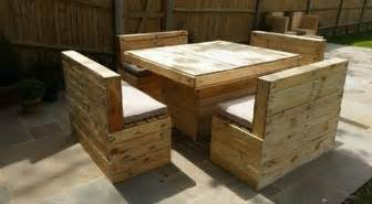wooden pallet garden furniture pallet furniture plans