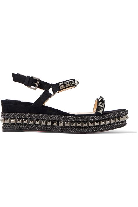 Wedges Mr90 Crocodile Best Buy Christian Louboutin Crocodile Embellished Sandals Best