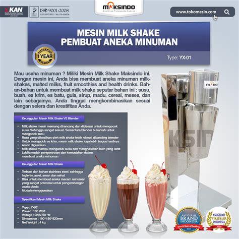 Jual Sho Metal Di Bogor jual mesin milk shake pembuat aneka minuman di bogor