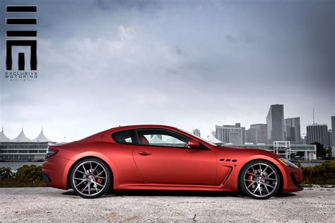 maserati granturismo sport custom maserati granturismo mc stradale kicks back on custom
