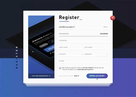 form design psd free download user registration form template psd download download psd