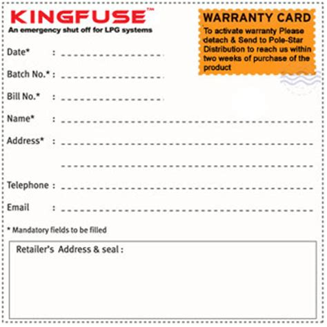 Warrant Card Template by Kingfuse