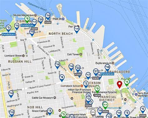 san francisco map parking best parking apps for san francisco