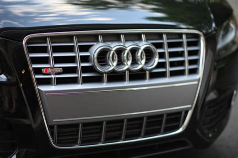 audi s line grill badge a5 s line to s5 grill