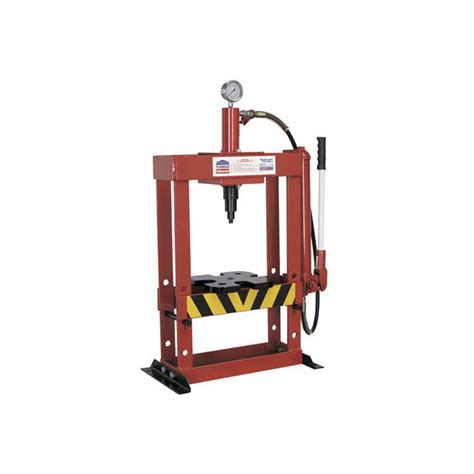 bench hydraulic press sealey hydraulic press 10tonne bench type heavy duty