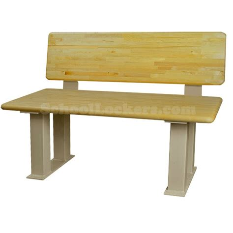 wood locker room benches locker room benches with backrest schoollockers com