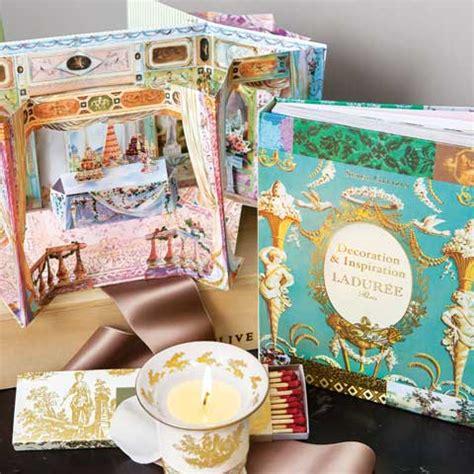 maison laduree book french candle set  gifts olive