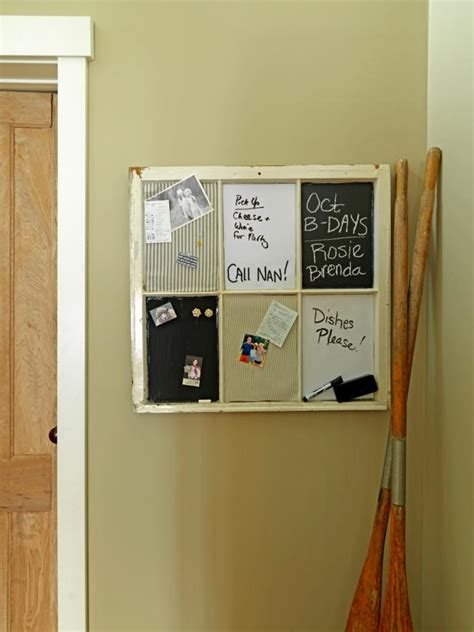 kitchen message board ideas turn a window into a message board how tos diy