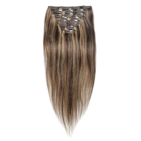 4 clip in hair extensions 16 to 26 inch 4 27 10pcs clip in human hair