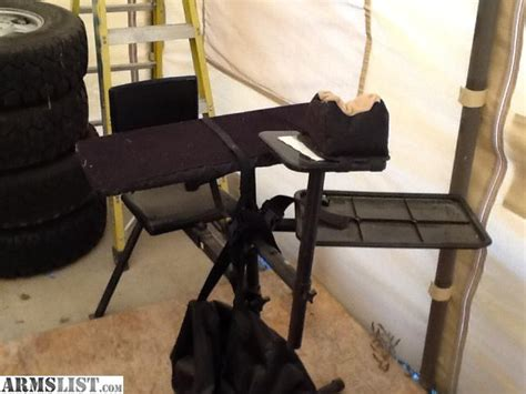 hitch mounted shooting bench armslist for sale trade hitch mount shooters bench rest