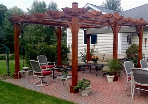 Pergola Canopy by 12 X16 Pergola With Retractable Canopy Outdoor