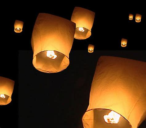 Make Paper Lanterns That Fly - noelisboring sky lanterns