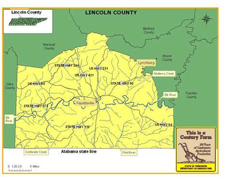 lincoln county tn department lincoln county tennessee century farms