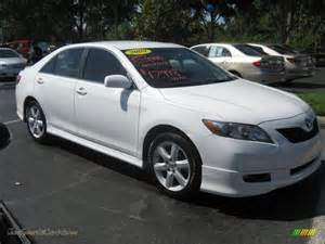 Toyota Camry 2009 White 2009 Toyota Camry Le In White 853513 Jax Sports