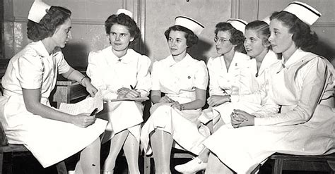 nursing school at 50 uniforms nurses actually been forced to wear