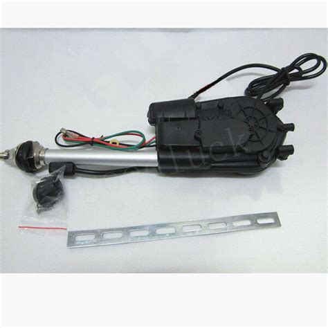 universal car electric aerial radio automatic booster power antenna ebay